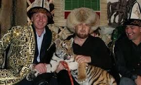Ramzan Kadyrov & friends (Instagram)