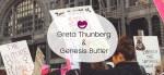 Greta Thunberg y Genesis Butler: el futuro son ellas