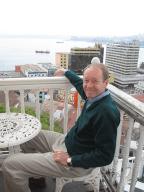 Tim Valparaiso B&B balcony