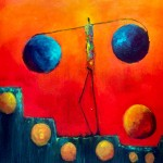 Balancing Act (36 x 36)