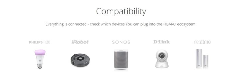 Fibaro's compatibility claims