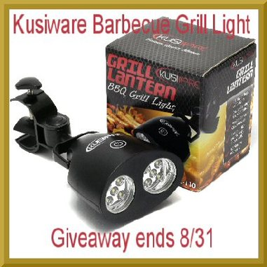 Let's get  #grilling with the Kusiware Barbecue Grill Light Giveaway - 8/31
