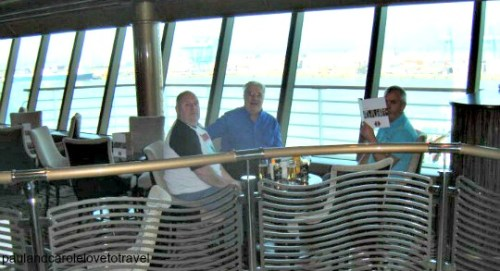 P&O Quality family time on our 2 day Ventura Cruise Ship Paul Carole Love Travel review information