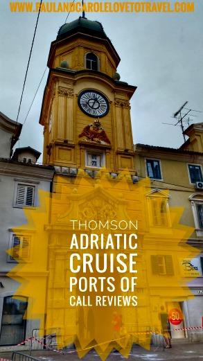 Thomson Adriatic Affair Cruise