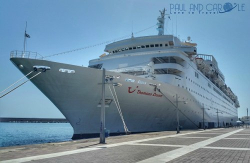 Thomson dream cruise ship cruising holiday vacation