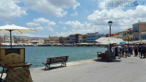 chania crete cruise port destination information guide venetian harbour