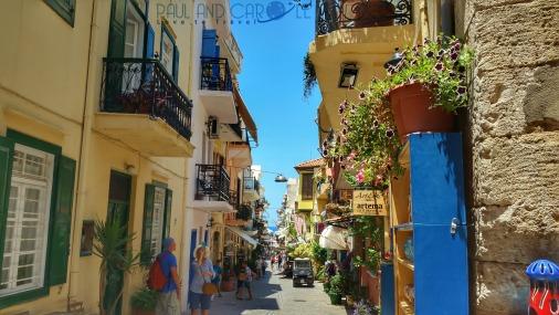 chania crete cruise port destination information guide
