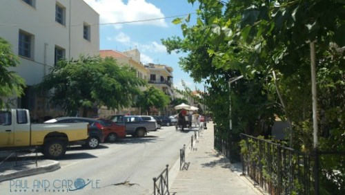 chania crete cruise port destination information guide horse and cart