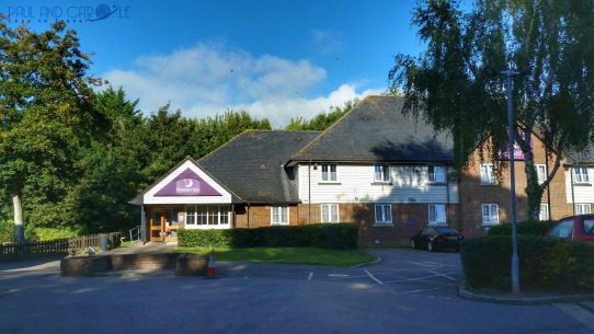 Premier Inn Sandling Hotel Review By Paul And Carole