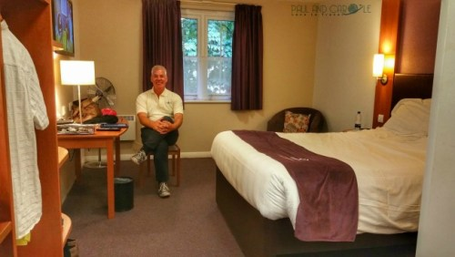 Premier Inn Room review Sandling Kent