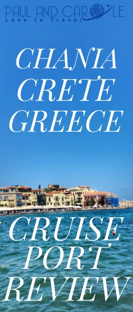 Chania Crete Greece cruise port review pin