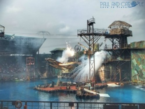 Waterworld at Universal Studios Sentosa paul and carole top travel tips singapore