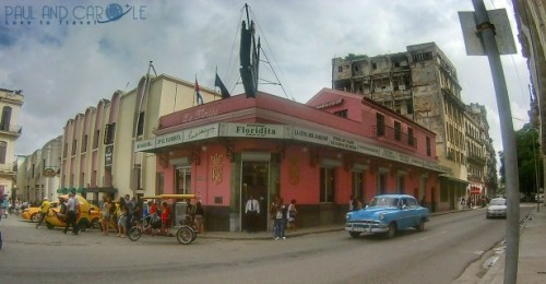 Havana Guide Cuba Paul and Carole Hooters and Habaneros #cuba #havana #guide #information #review #tips #travel #travelling #Caribbean #island #destination #classic #cars #advice #stay #blog #post #bloggers la floridita