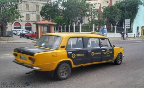 Havana Guide Cuba Paul and Carole Hooters and Habaneros #cuba #havana #guide #information #review #tips #travel #travelling #Caribbean #island #destination #classic #cars #advice #stay #blog #post #bloggers stretch lada