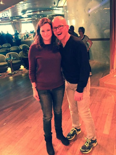 Paul Carole Love Travel P&O cruises guest post cruise blogger anna eddie eagle