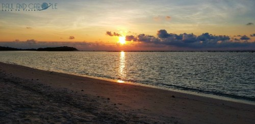 Guide to the best beautiful beaches of Koh Samui Thailand by Paul and Carole sunrise chaweng beach