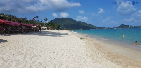 Guide to the best beautiful beaches of Koh Samui Thailand by Paul and Carole Lamai beach
