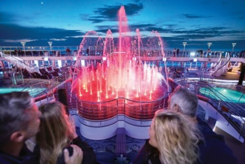 Royal Princess cruise ship day visit #cruises #cruising #royal #princess #ship #cruise #travel #bloggers #cruisers #paul #carole #tour #review #information #blog #post #pools #cabins #entertainment #food #movies #stars #deck #luxury