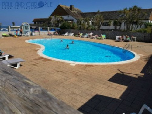 Beachside Holiday Park Hayle Cornwall Review #travel #uk #england #cornwall #hayle #camping #campsite #holiday #park#beachside #travelling #travellers #beach #review #paul #carole