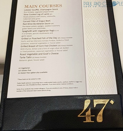 Marella Discovery Cruise Ship Food and Restaurant Review #marella #dicovery #cruise #ship #food #dining #restaurant #review #47 #speciality #buffet #islands #snack #shak #italian #glasshouse #menu #travel #cruising