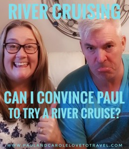 The fact of the matter is that I would love to try river cruising but Paul is adamant that this type of cruising is not for him. Attempts at discussing this type of cruising with him has always been just met with a thumbs down and a very grumpy face. #river #cruising #europe #emerald #waterways #cruise #love #travel #ChooseCruise #CLIA