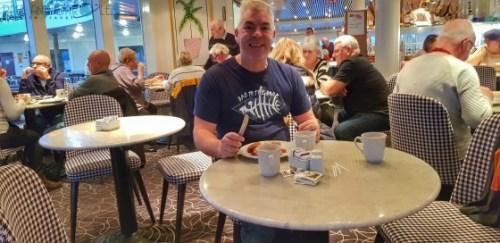 CMV Marco Polo Cruise ship buffet restaurant #CMV #cruising #maritime #voyages #marcopolo #marco #polo #cruise #reviews #buffet #restaurant #breakfast #dining #food
