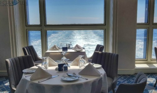 The stunning wake views from Latitude restaurant on the Marella Explorer 2 Cruise Ship #cruise #ChooseCruise #cruising #marella #MarellaExplorer2 #TUI
