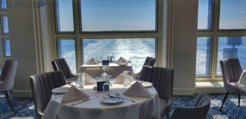 The stunning wake views from Latitude restaurant on the  Marella Explorer 2 Cruise Ship   #cruise #ChooseCruise #cruising #marella #MarellaExplorer2 #TUI