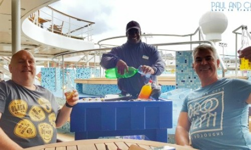 Orlando fun waiter pool deck 11 Marella Explorer 2 Cruise Ship Review #cruise #ChooseCruise #cruising #marella #MarellaExplorer2 #TUI #explorer #review