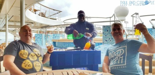 Orlando fun waiter pool deck 11 Marella Explorer 2 Cruise Ship Review    #cruise #ChooseCruise #cruising #marella #MarellaExplorer2 #TUI #explorer #review