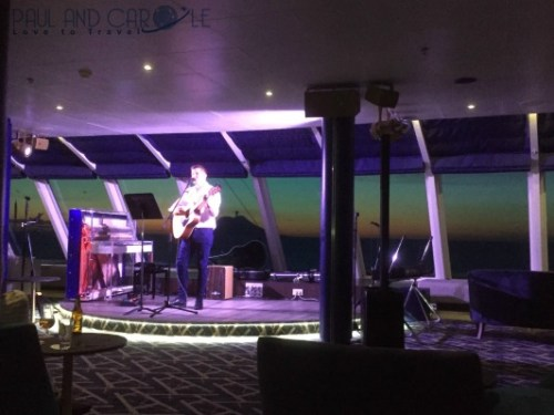 Indigo live music lounge on the Marella Explorer 2 Cruise Ship Review  #cruise #ChooseCruise #cruising #marella #MarellaExplorer2 #TUI