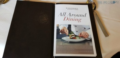 all around dining menu silversea cruises silver cloud cruise ship expedition cruises #silversea #cruises #thisissilversea #expedition #cruising