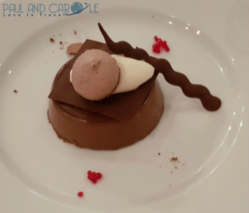 Chocolate mousse Latitudes restaurant Marella Explorer Cruise Ship Review    #cruise #ChooseCruise #cruising #marella #MarellaExplorer2 #TUI