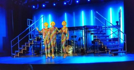 Globe Girls playhouse theatre Saga new cruise ship #saga #cruises #spirit #discovery #SpiritOfDiscovery