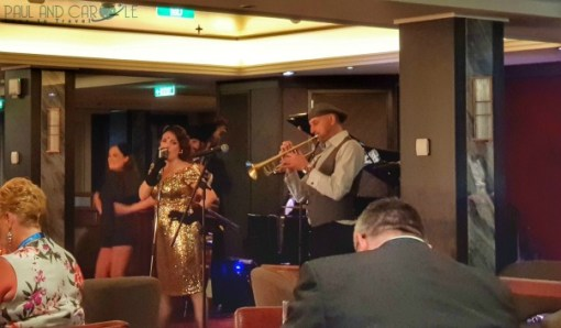 Kiddy and the Cads at The Club by Jools saga new cruise ship spirit of discovery #saga #cruises #spirit #discovery #SpiritOfDiscovery