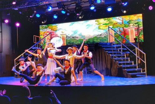 Playhouse theatre entertainment team mary poppins Saga new cruise ship spirit of discovery #saga #cruises #spirit #discovery