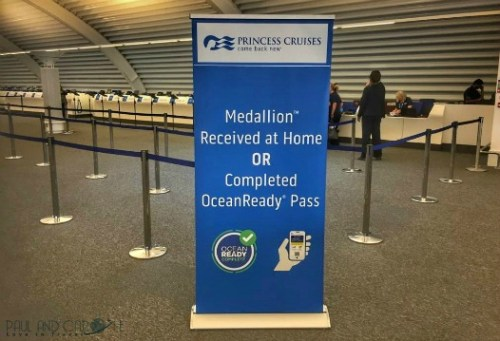ocean medallion embarkation check in ocean ready princess cruises presentation cruising #oceanmedallion #princesscruises #choosecruise #cruise #oceanready