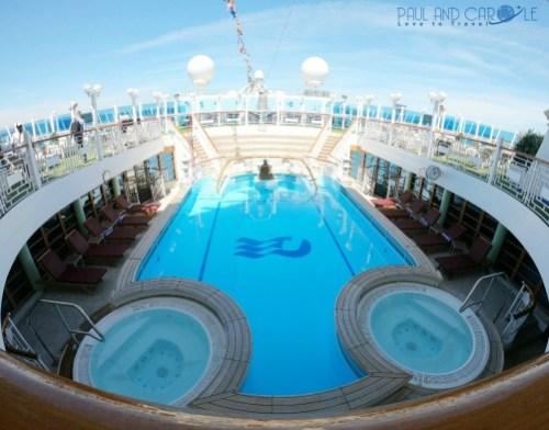 pools crown princess cruises cruising  #princesscruises #choosecruise #cruise #pooldecks #crownprincess