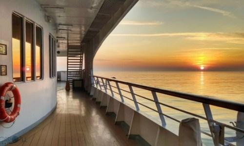 prom sunset.#fredolsen #fredolsencruiseline #braemar #cruiseship #choosecruise #cruising #cruise #paulandcarole