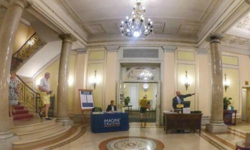 Lobby Ambaciatori Palace Hotel Rome Italy Imagine Cruising Katherine Jenkins  #imaginewow #kjrome #imaginecruising #katherinejenkins #ChooseCruise #cruise #cruising