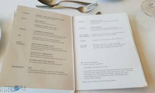 Fred Olsen Braemar grampian restaurant menu.#fredolsen #fredolsencruiseline #braemar #cruiseship #choosecruise #cruising #cruise #paulandcarole
