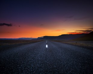 Iceland Sunset Roadtrip Photography