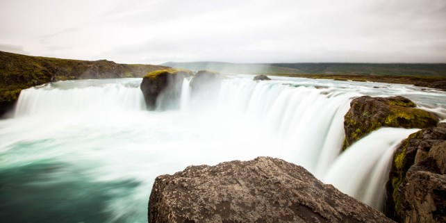 North Iceland godafoss waterfall photography