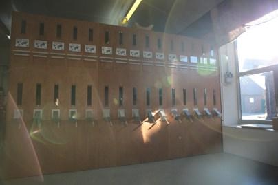 Den Vorratsschrank hat Josef Küper selbst entworfen