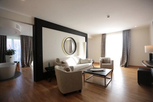 Blick in eine der Suiten