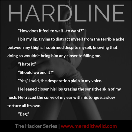 Photo Quote from Hardline by Meredith Wild