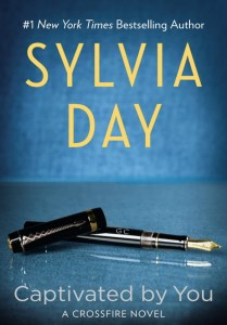 Photo of the cover of Captivated by You, an erotic romance novel by Sylvia Day