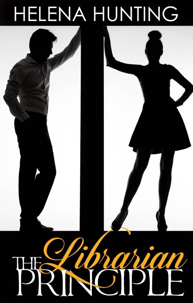 Cover photo, The Librarian Principle, an Erotic Romance Novel by Helena Hunting
