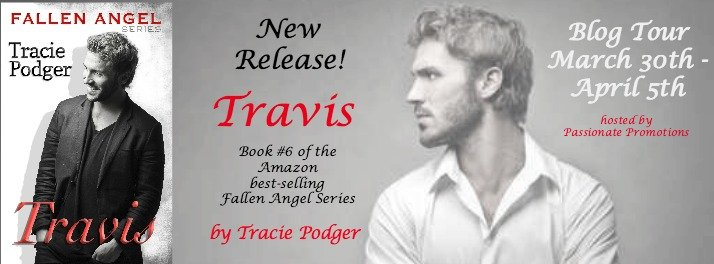 New Release Tour Banner for Travis, by author Tracie Podger
