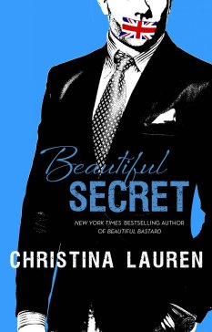 Photo of the cover of Beautiful Secret, a contemporary romance novel by authors Christina Lauren